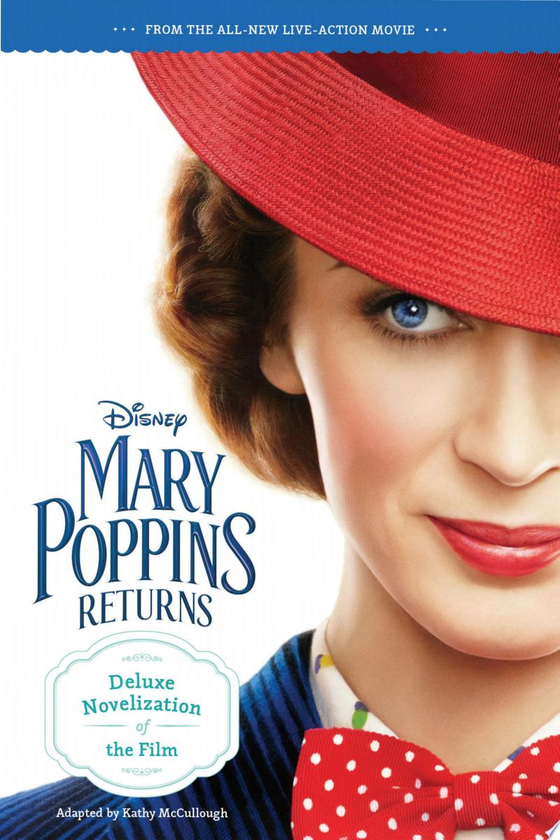 Mary Poppins Returns Deluxe Novelization banner backdrop