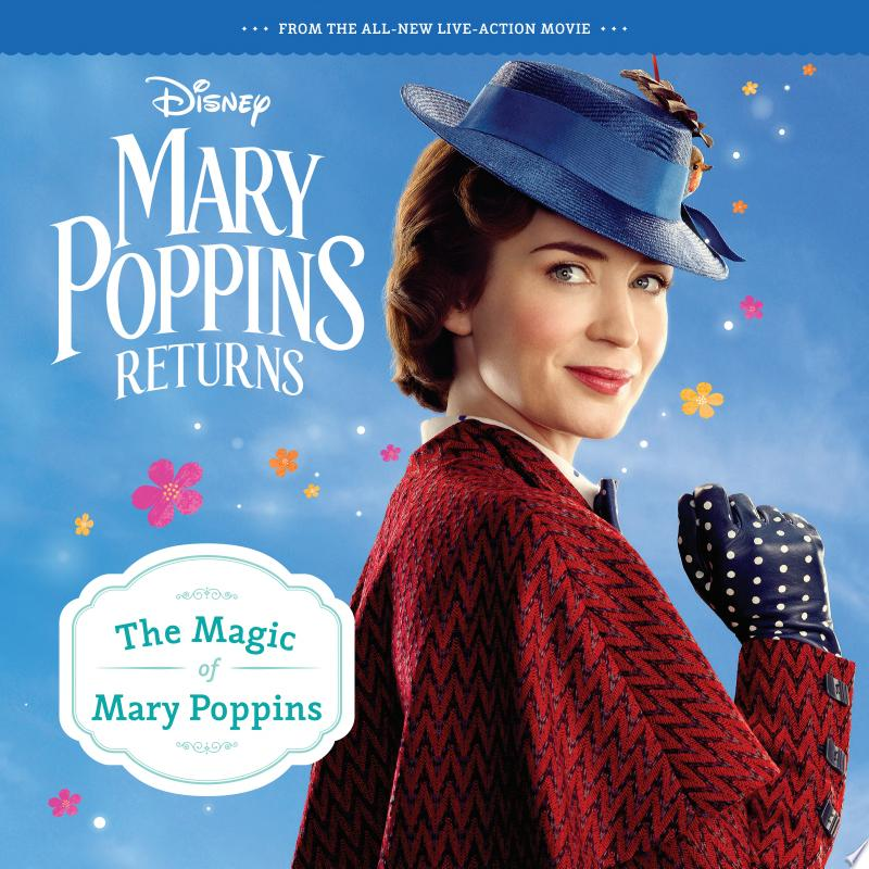 Mary Poppins Returns: the Magic of Mary Poppins 8x8 Storybook banner backdrop