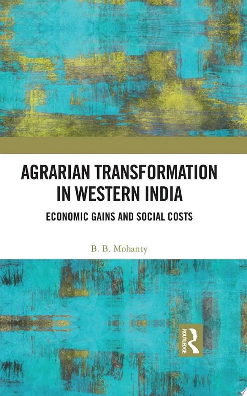 Agrarian Transformation in Western India banner backdrop