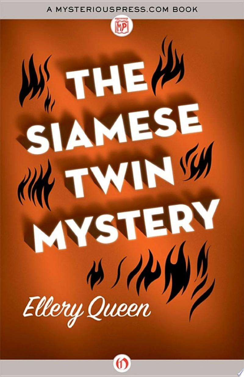 The Siamese Twin Mystery banner backdrop