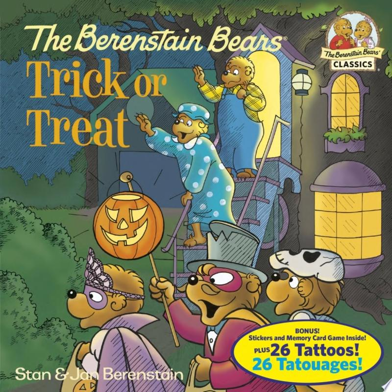 The Berenstain Bears Trick Or Treat (Deluxe Edition) banner backdrop