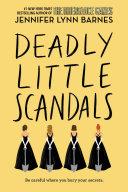 Deadly Little Scandals banner backdrop