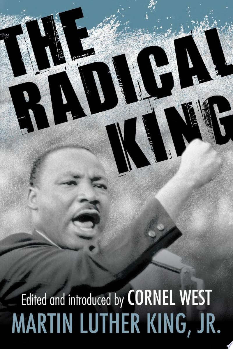 The Radical King banner backdrop