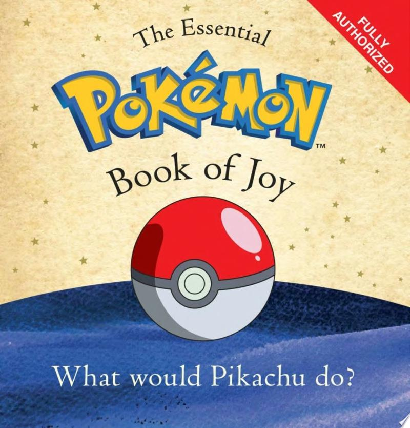 The Essential Pokémon Book of Joy banner backdrop