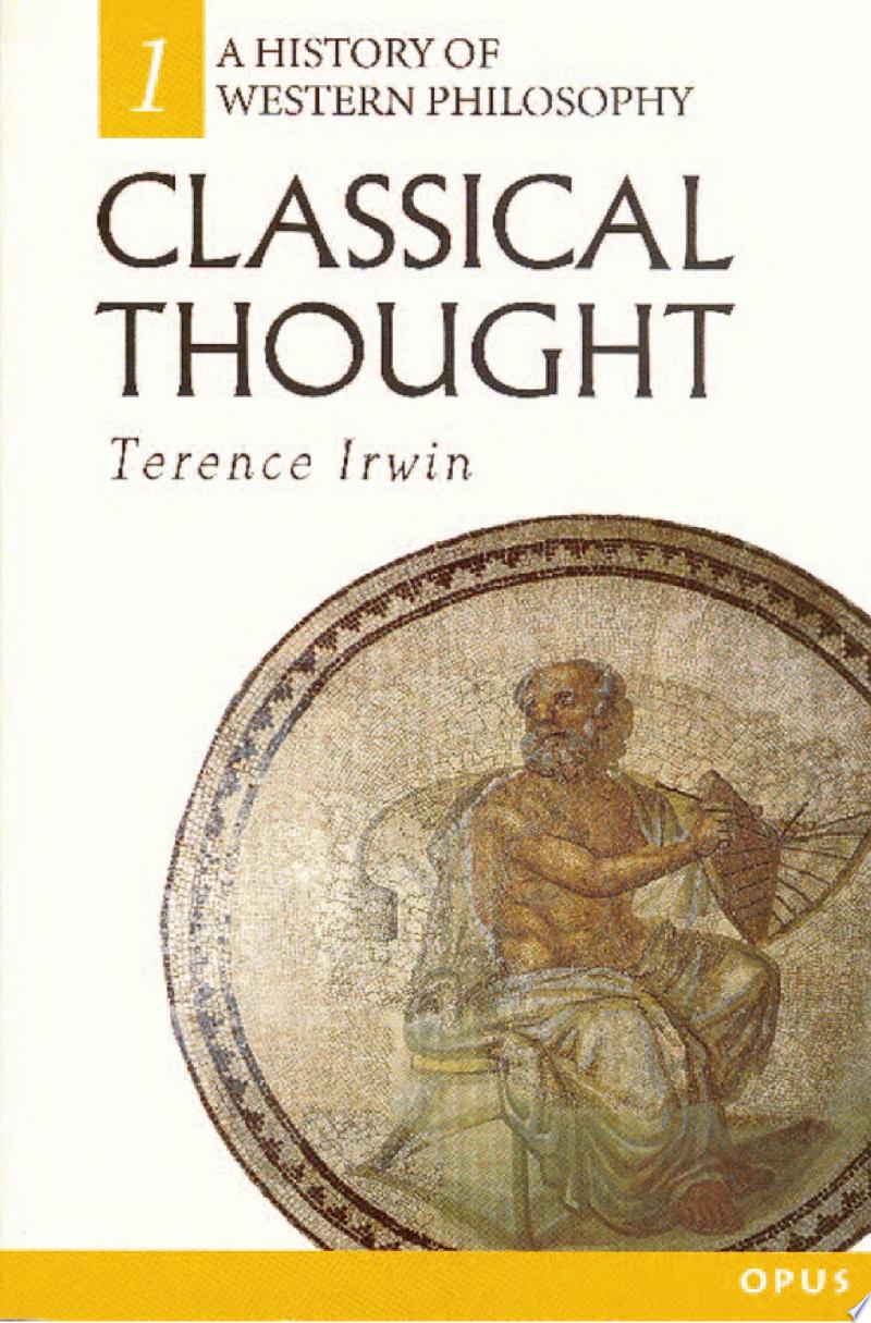 Classical Thought banner backdrop