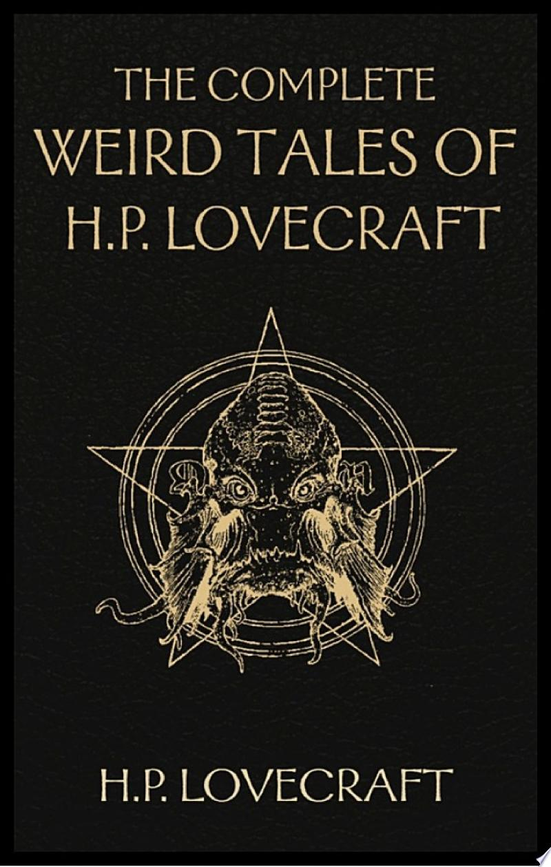 The Complete Weird Tales of H. P. Lovecraft banner backdrop