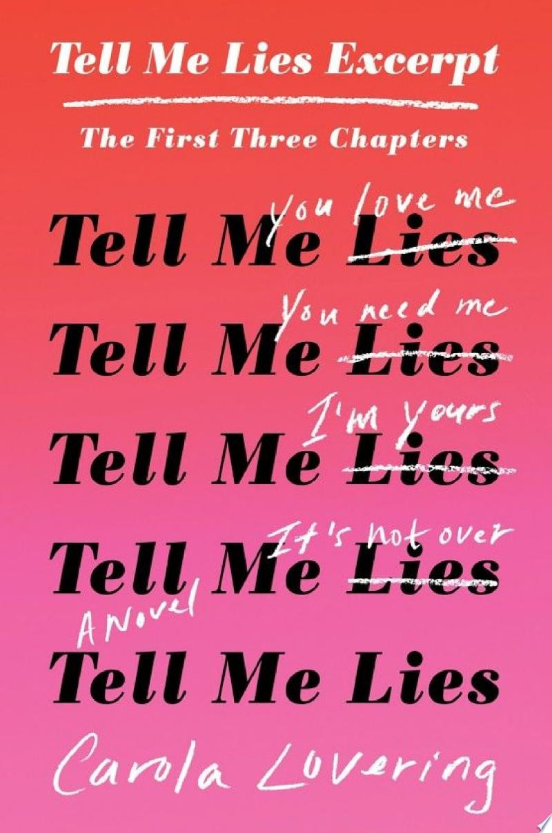 Tell Me Lies Excerpt banner backdrop