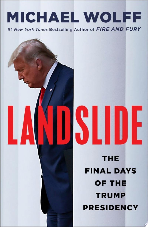 Landslide banner backdrop
