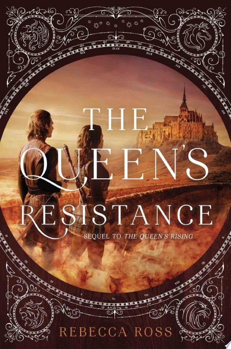 The Queen's Resistance banner backdrop