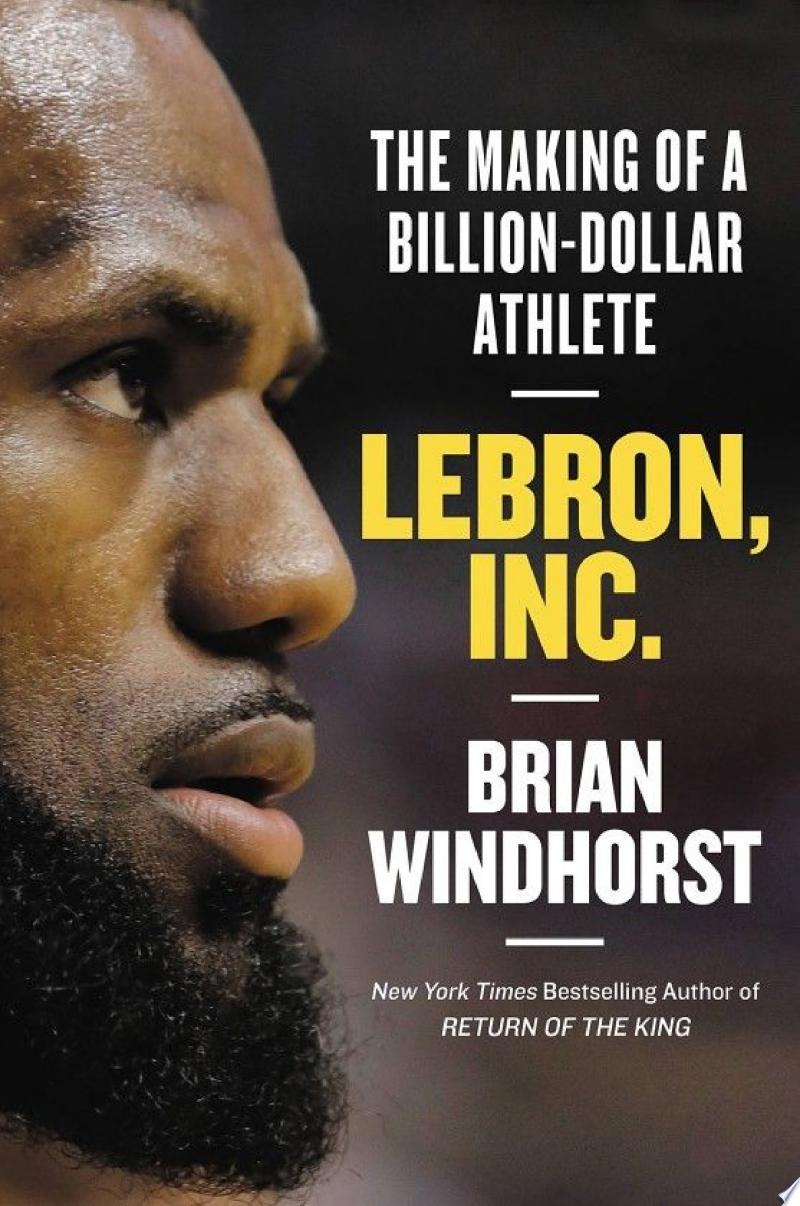 LeBron, Inc. banner backdrop