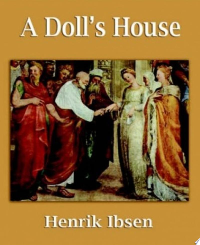 A Doll's House banner backdrop