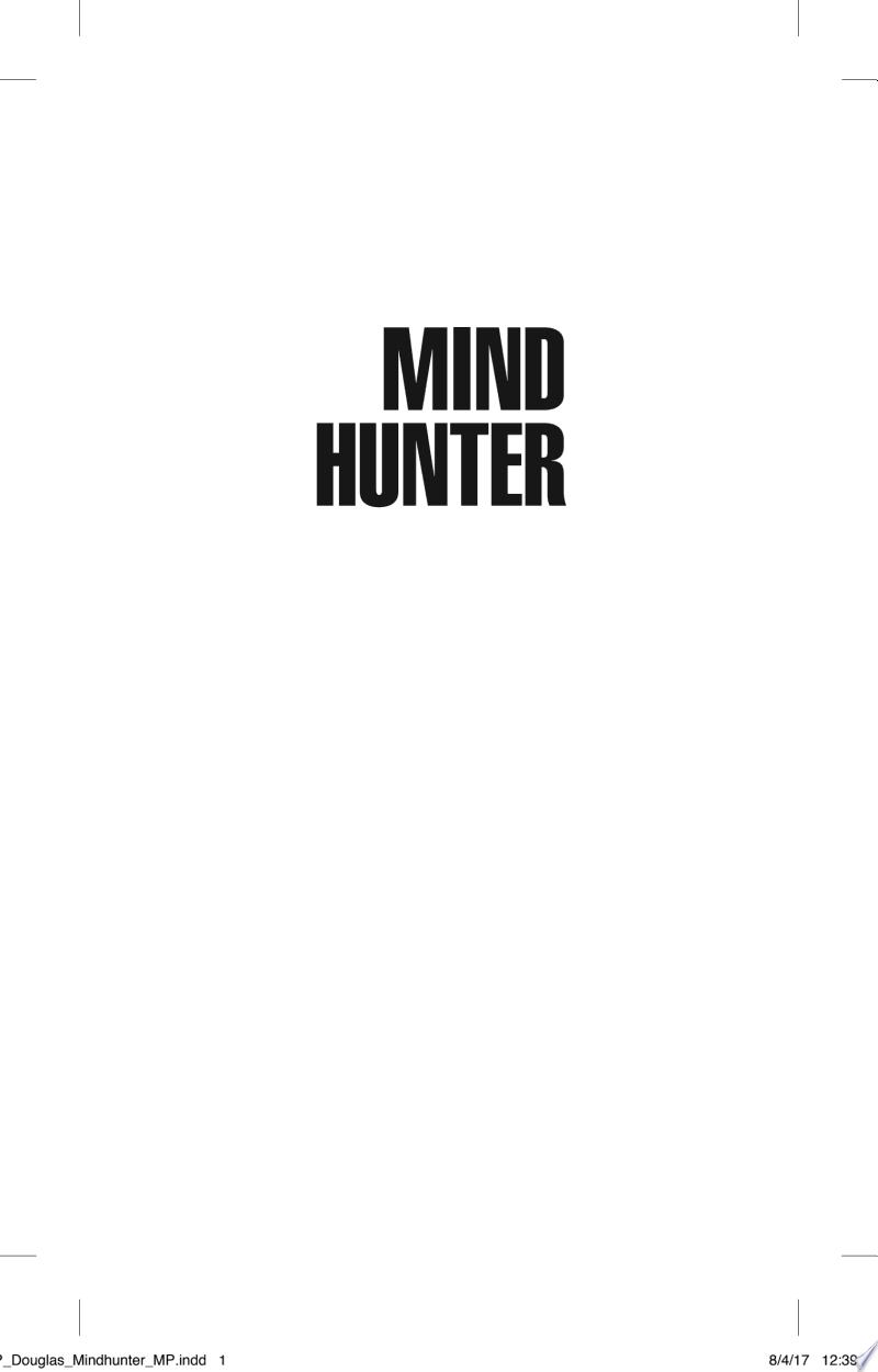 Mindhunter banner backdrop