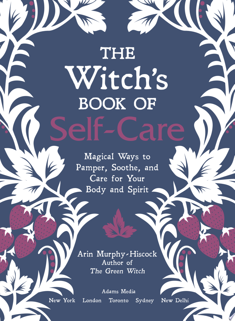 The Witch's Book of Self-Care banner backdrop