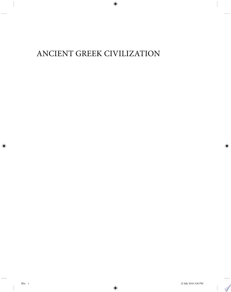 Ancient Greek Civilization banner backdrop