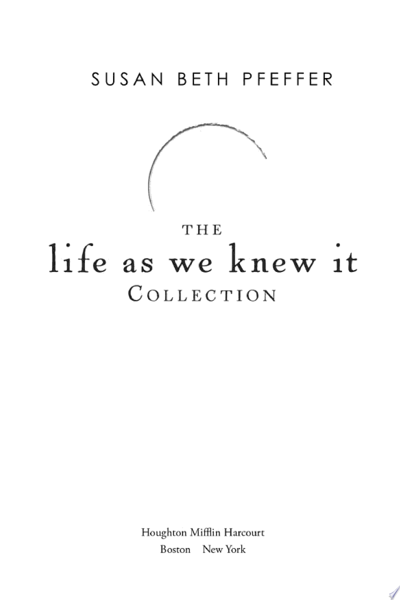 The Life As We Knew It Collection banner backdrop
