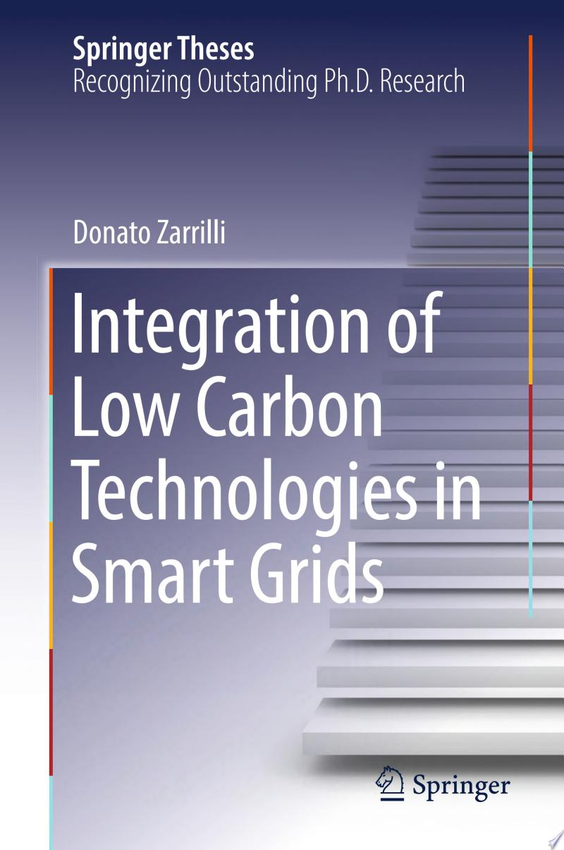 Integration of Low Carbon Technologies in Smart Grids banner backdrop