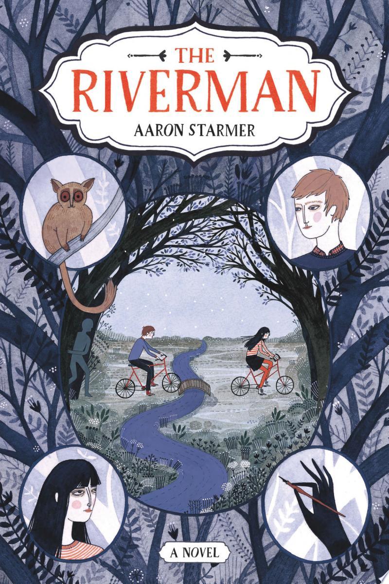 The Riverman banner backdrop
