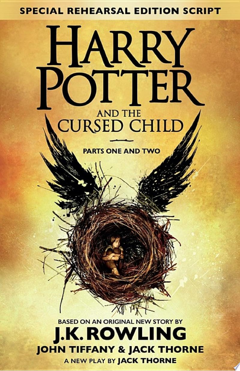 Harry Potter and the Cursed Child – Parts One and Two (Special Rehearsal Edition) banner backdrop