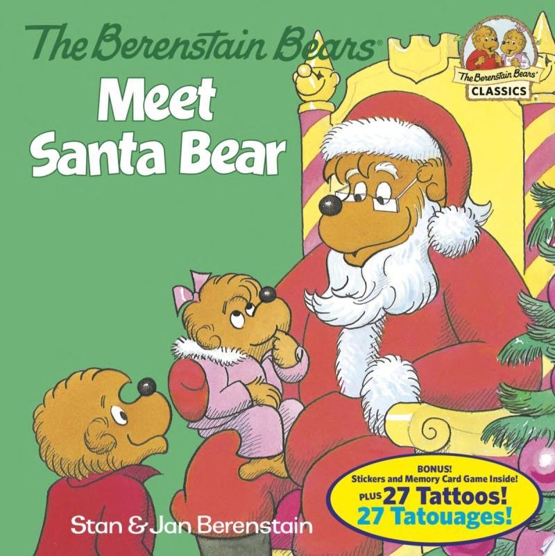 The Berenstain Bears Meet Santa Bear (Deluxe Edition) banner backdrop