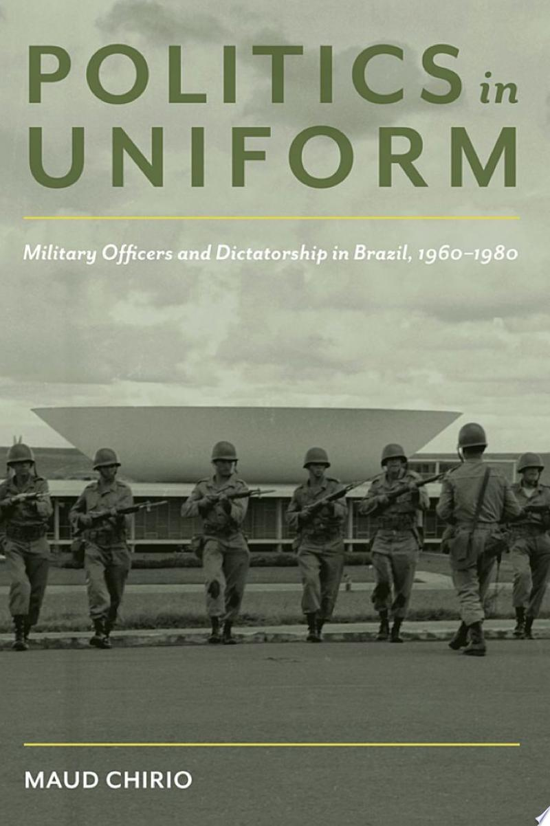Politics in Uniform banner backdrop