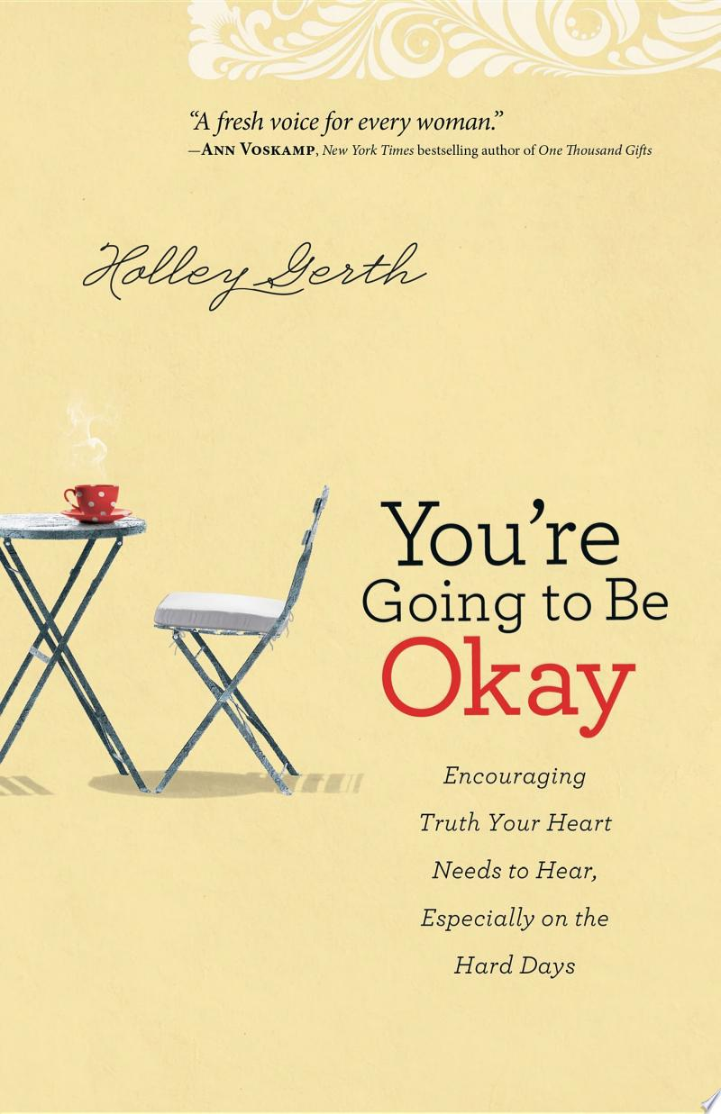 You're Going to Be Okay banner backdrop