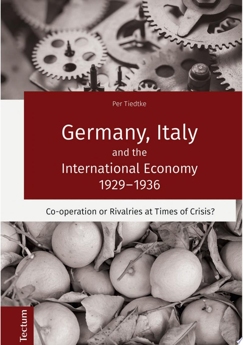 Germany, Italy and the International Economy 1929–1936 banner backdrop