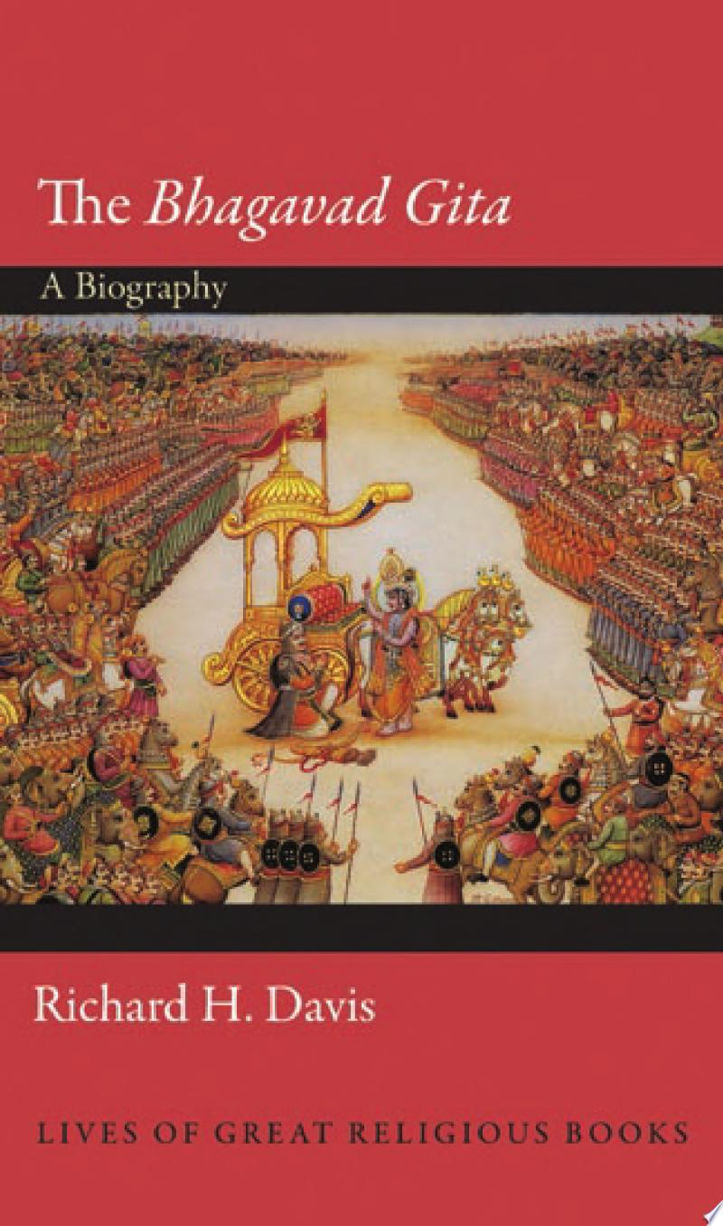 The Bhagavad Gita banner backdrop