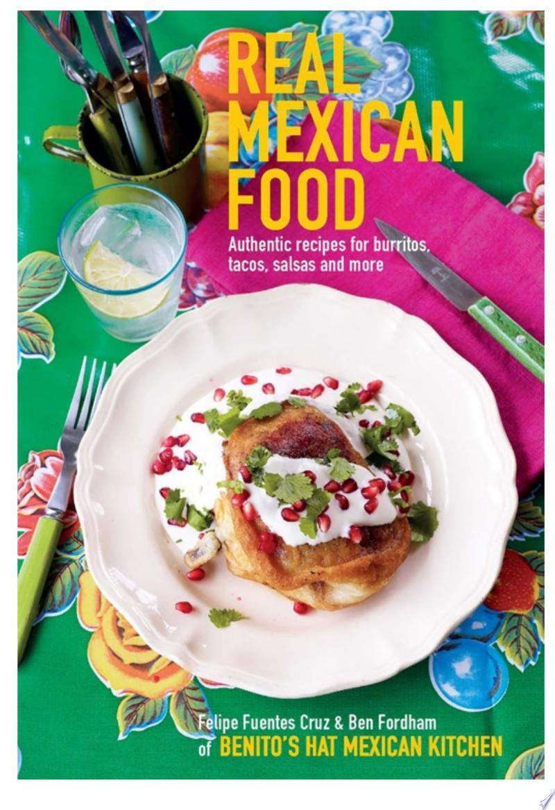 Real Mexican Food banner backdrop