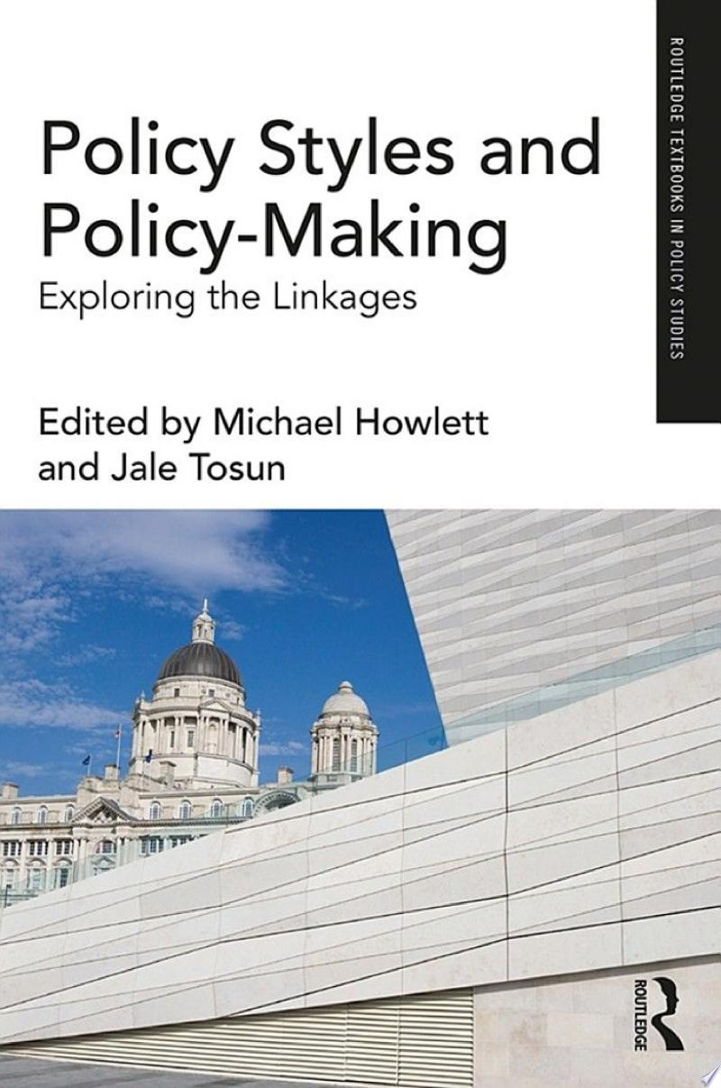 Policy Styles and Policy-Making banner backdrop