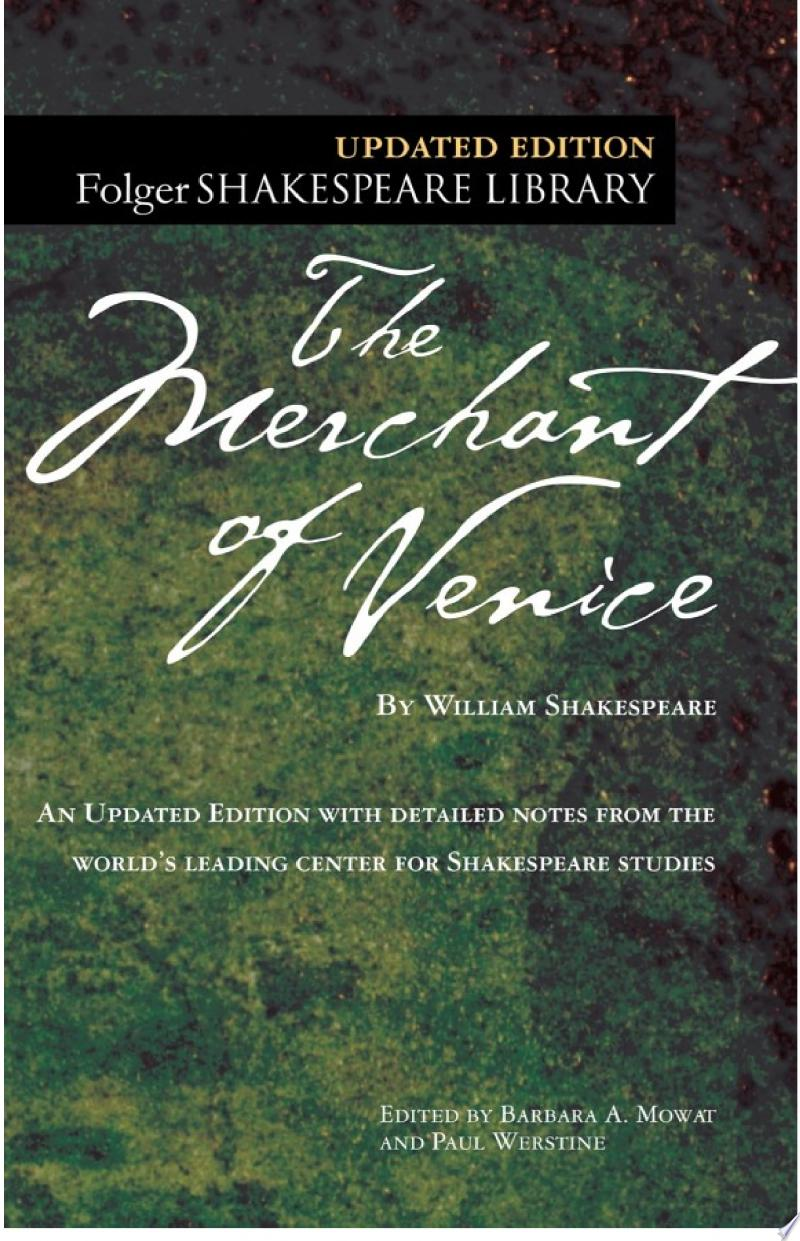 The Merchant of Venice banner backdrop
