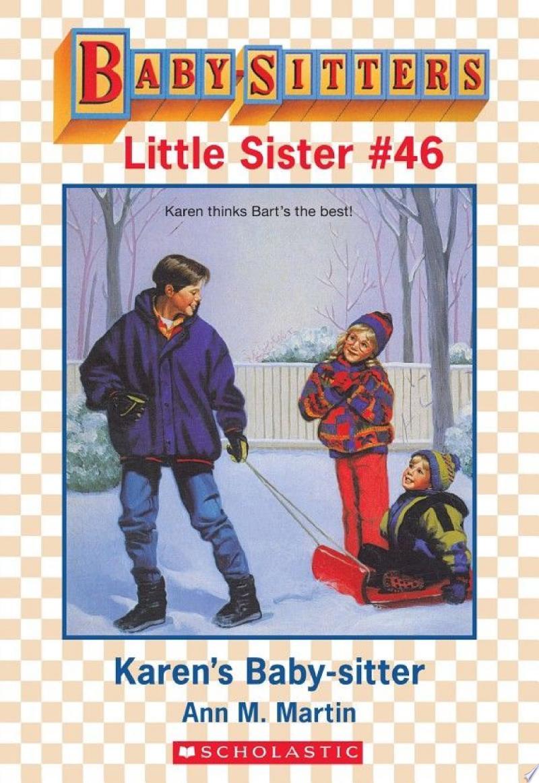 Karen's Baby-Sitter (Baby-Sitters Little Sister #46) banner backdrop
