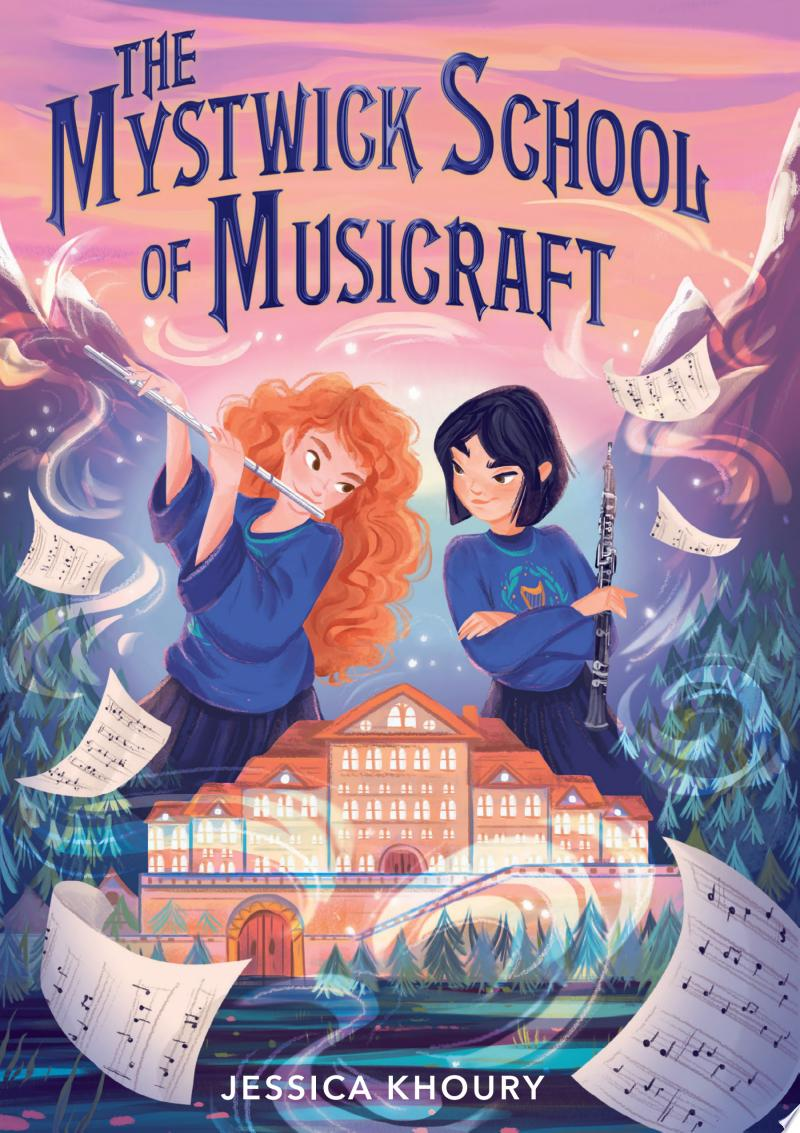 The Mystwick School of Musicraft banner backdrop