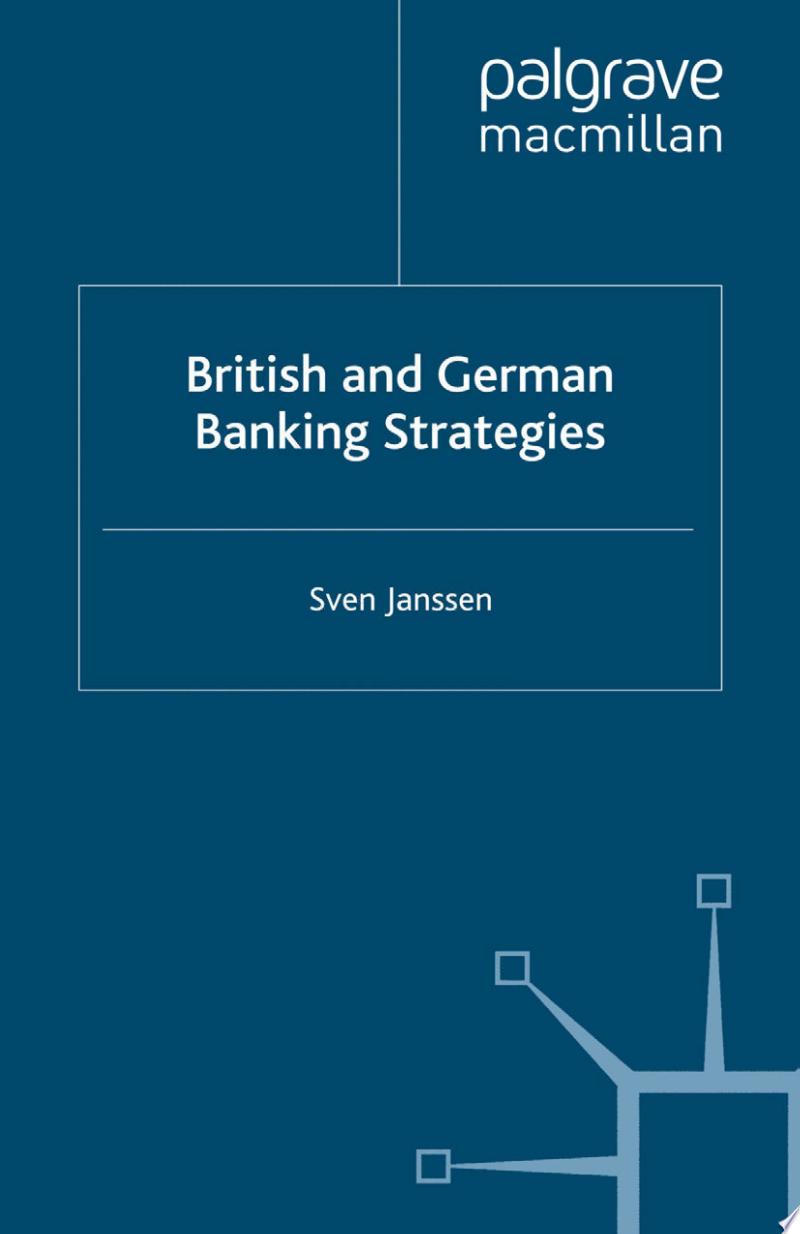 British and German Banking Strategies banner backdrop