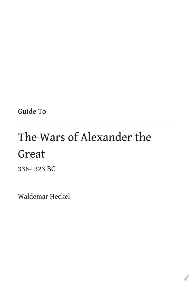 The Wars of Alexander the Great banner backdrop