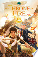 The Kane Chronicles, Book Two: The Throne of Fire: The Graphic Novel image