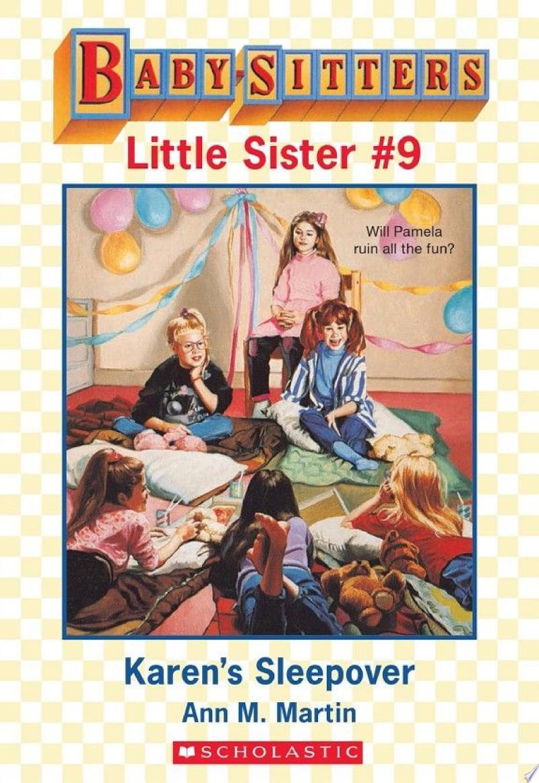 Karen's Sleepover (Baby-Sitters Little Sister #9) banner backdrop