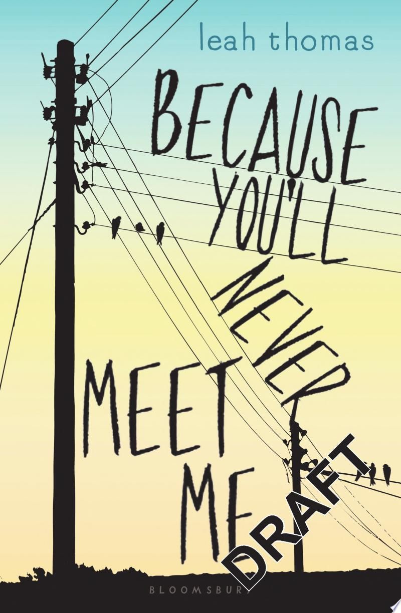 Because You'll Never Meet Me banner backdrop